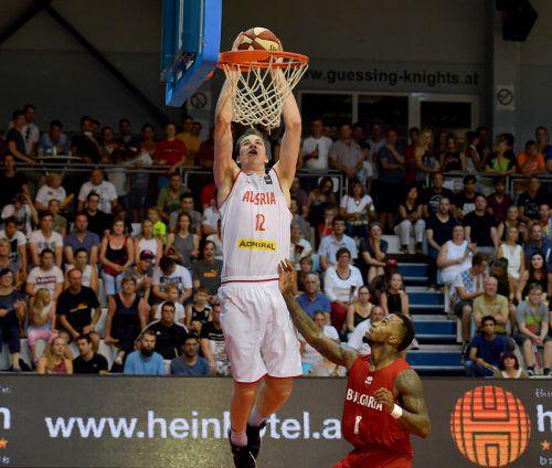 NBA-Spieler Jakob Pöltl wusste zu überzeugen.Foto: gepa
