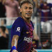 Neymar spielt ein Verwirrspiel mit Barcelona