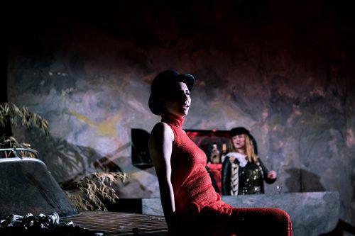 """Nur noch dieses Wochenende kann die diesjährige Aufführung """"Moustache"""" von Shakespeare am Berg in Bludenz besucht werden.foto: shakespeare am berg"""