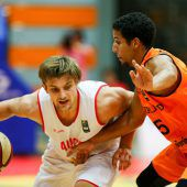 Die Basketball-Herrenunterlagen Holland