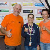 """<p class=""""caption"""">Organisationsleiter Herbert Benzer (l.)mit Andrea Ruckendorfer und Simone Mathis-Markstaler.  FOTOS: FRANC</p>"""