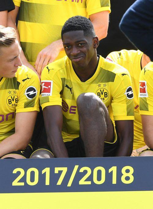 Ousmane Dembélé will den BSV in Richtung Barcelona verlassen.AFP