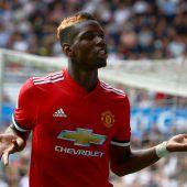 UEFA zeichnete Manchesters Paul Pogba aus