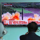 US-Machtdemonstration gegenüber Nordkorea