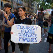 Heftige Proteste gegen Tourismus in Spanien