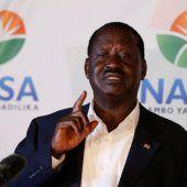 Oppositionsführer spricht von Wahlbetrug
