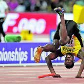 Bolts letzter Auftritt war ein Krampf