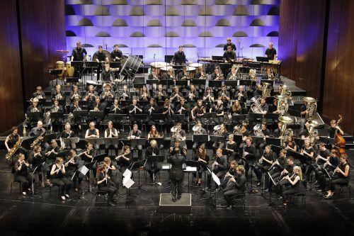 Rund 90 junge Musiker nahmen heuer am Blasmusik-Camp der Festspiele teil.Foto: BF/Köhler