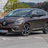 """<p class=""""caption"""">Schicker Franzose mit großem Platzangebot: die XXL-Version des Renault Scenic im VN-Test. Fotos: VN/Steurer</p>"""