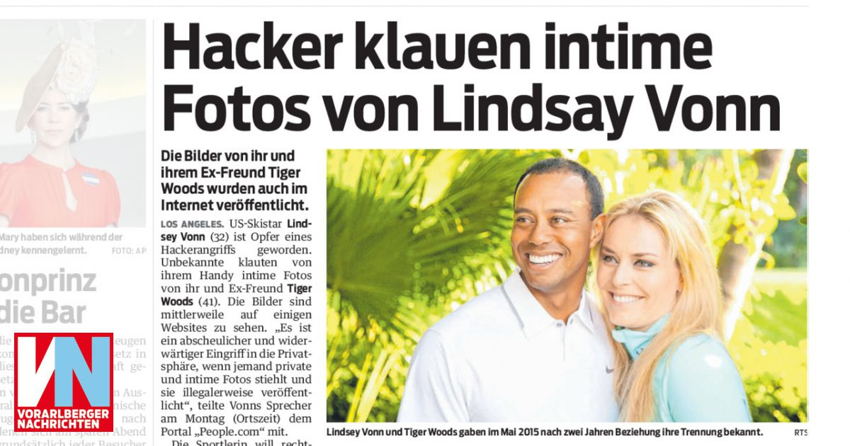 Hacker fotos vonn lindsey Lindsey Vonn's