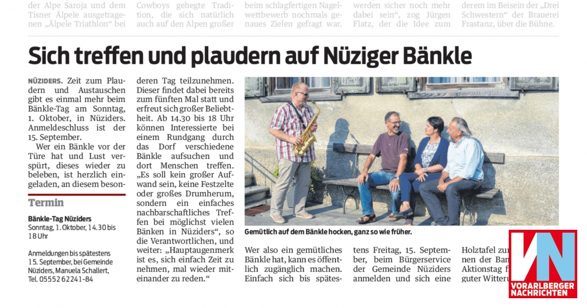 BILDER & Treffen - Nziger65er Jahrgang 1965 Nziders