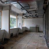 Die Umbauarbeiten im Antoniushaus laufen