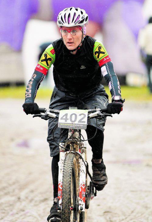 Titel bei der Mountainbike-EM: Christina Kollmann. Foto: gepa