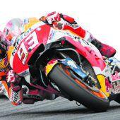 Marquez will Führung in Silverstone ausbauen