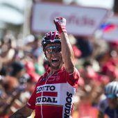 Froome behält Gesamtführung bei der Vuelta