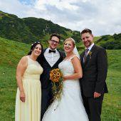 Aus Schulbekanntschaft wurden glückliche Eheleute