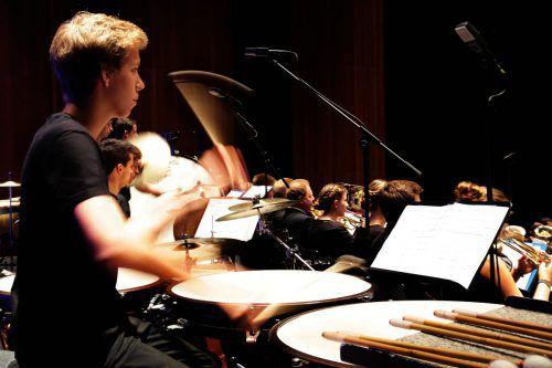 """Unter dem Titel """"Brass Espagnole"""" findet am Sonntag die Orchestermatinee mit den jungen Musikern des Internationalen Blasmusik-Camps und Mitgliedern der Wiener Symphoniker statt.foto: anja köhler/BF"""