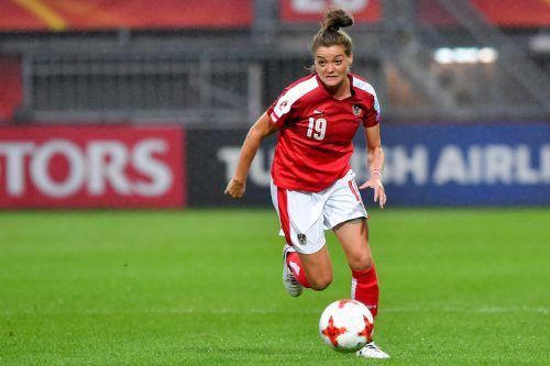 Verena Aschauer spielte eine ganz starke Europameisterschaft.  gepa