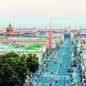 Prachtstraße im Zentrum