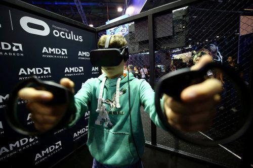 Virtual Reality (VR) spielt immer noch eine große Rolle.