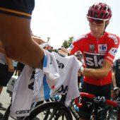 Froome nach zwei Stürzen weiter Vuelta-Leader