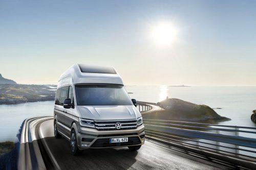VW stellt die Studie eines Wohnmobils auf Crafter-Basis vor.