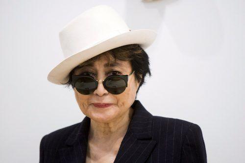 """Yoko Ono hatte die Hamburger """"Yoko Mono Bar"""" wegen einer Namensähnlichkeit geklagt. RTS"""