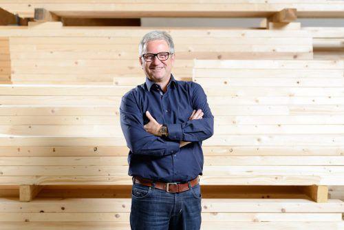 Zukunftsträchtige Holzbaukunst bringt laut Ammann Ökonomie, Ökologie und Ästhetik in Harmonie. Rhomberg