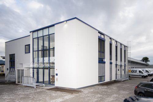 3,5 Millionen Euro investiert GLS in das neue Depot in Rankweil. Firma