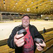 Eishockeyfan von klein auf