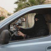 Fahrverbot für Frauen aufgehoben