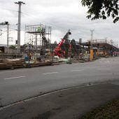 Letzte Etappe für Bahnhofsumbau