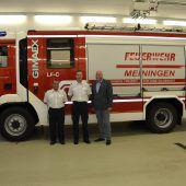 Segen für Meininger Feuerwehrauto