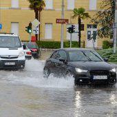 Schlimmste Überschwemmungen seit 30 Jahren in Kroatien