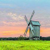 Estlands Windmühlen laufen noch