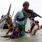 Gewalt gegen Rohingyas eskaliert