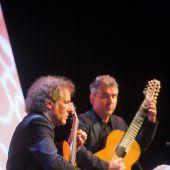 Zwei Meistergitarristen bescherten Klangerlebnisse