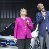 Merkel liest Autobauern die Leviten