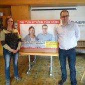 Plakate in ganz Österreich