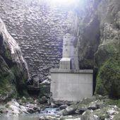 Staudamm Staufensee unter Druck