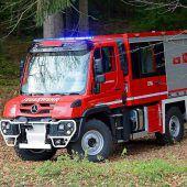 Neuer Unimog für Fluher Feuerwehr