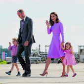 Britische Royals sind bald zu fünft