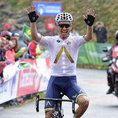 Denifl schrieb mit Tagessieg bei Vuelta Sportgeschichte