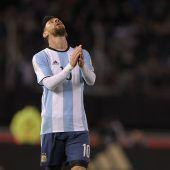 Argentinien leidet mit Messi