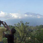 Bali bereitet sich auf Vulkanausbruch vor