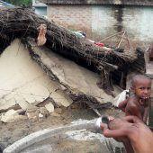Monsun-Opfer in Nepal brauchen dringend Hilfe