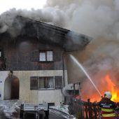 Hausbrand im Fürstentum
