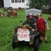 Regnerisches Ende des Alpsommers