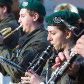 Benefizkonzert der Militärmusik
