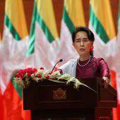 Suu Kyi bricht ihr Schweigen